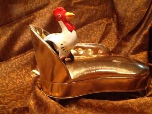 FOTO 1:  la gallina de los huevos de oro.