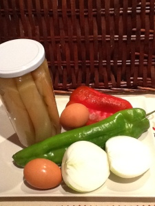 FOTO 1:  Ingredientes.
