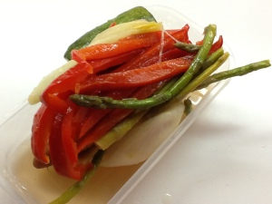 FOTO 2:  Verduras al dente.