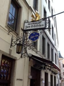 Brauerei Zum Schiffchen, el restaurante más antiguo de Dusseldorf