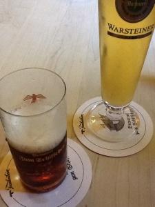 Foto1:  Altbier la cerveza  oscura más popular de esta zona.