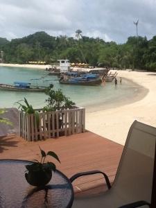 Nuestros primeros dias en las islas nos hemos quedado en el Hotel Natural Resort, Ao Nang - Phi Phi Island