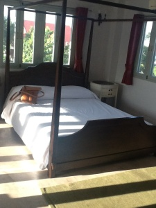 FOTO 1: Nuestra habitación.
