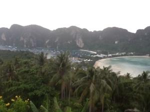 Vista panorámica de Ko Phi Phi Don