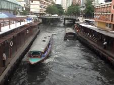Nuestro medio de transporte favorito en Bangkok.