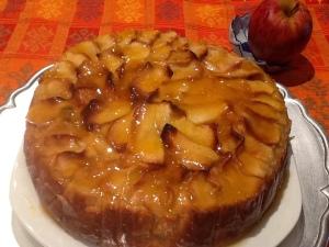 ... y la tarta era de manzana