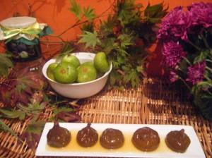 Presentamos higos de Muskiz en almíbar