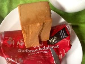Geitost, queso de cabra noruego