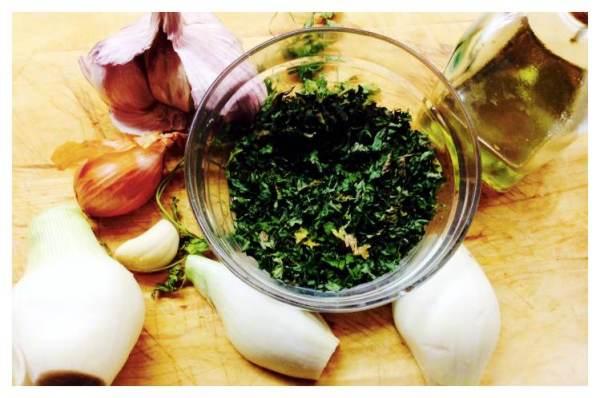 Bacalao Skrei con salsa verde de aceitunas