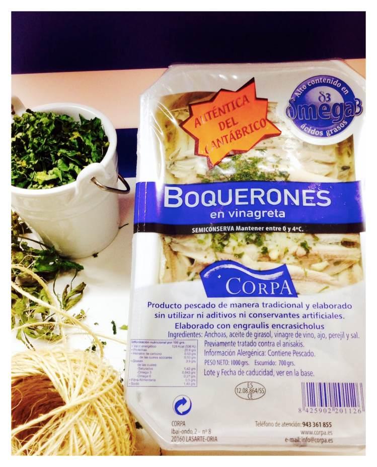 BOQUERONES EN VINAGRETA CORPA