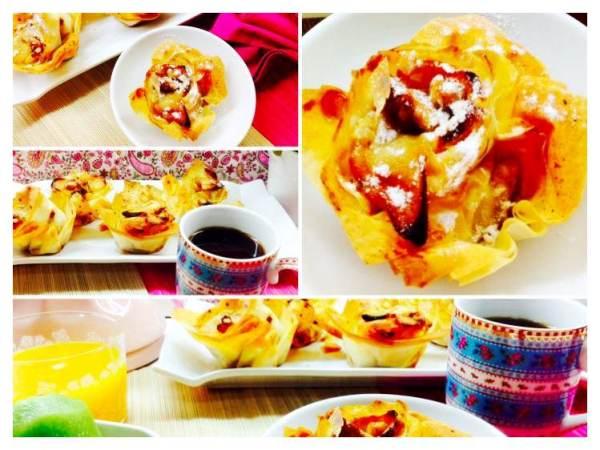 Rosas de manzanas nueces y canela crujientes_Fotor