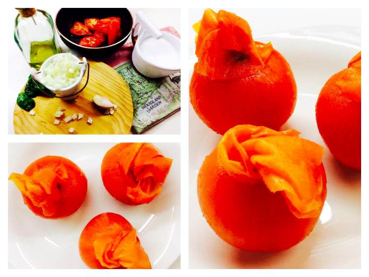 Tomates Tosta de cecina con crema de tomate y albahaca_Fotor