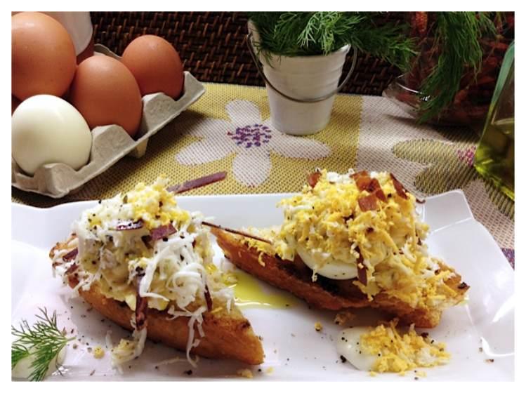 Tosta de huevo