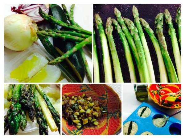 Bizcochitos salados  con espárragos y bacalao_Fotor