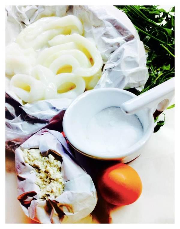 Calamares a la romana ingredientes Fotor