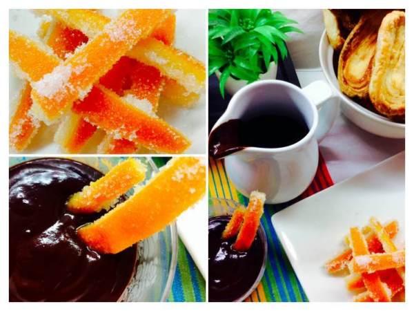 Chocolate con bastoncillos de naranja confitada_Fotor