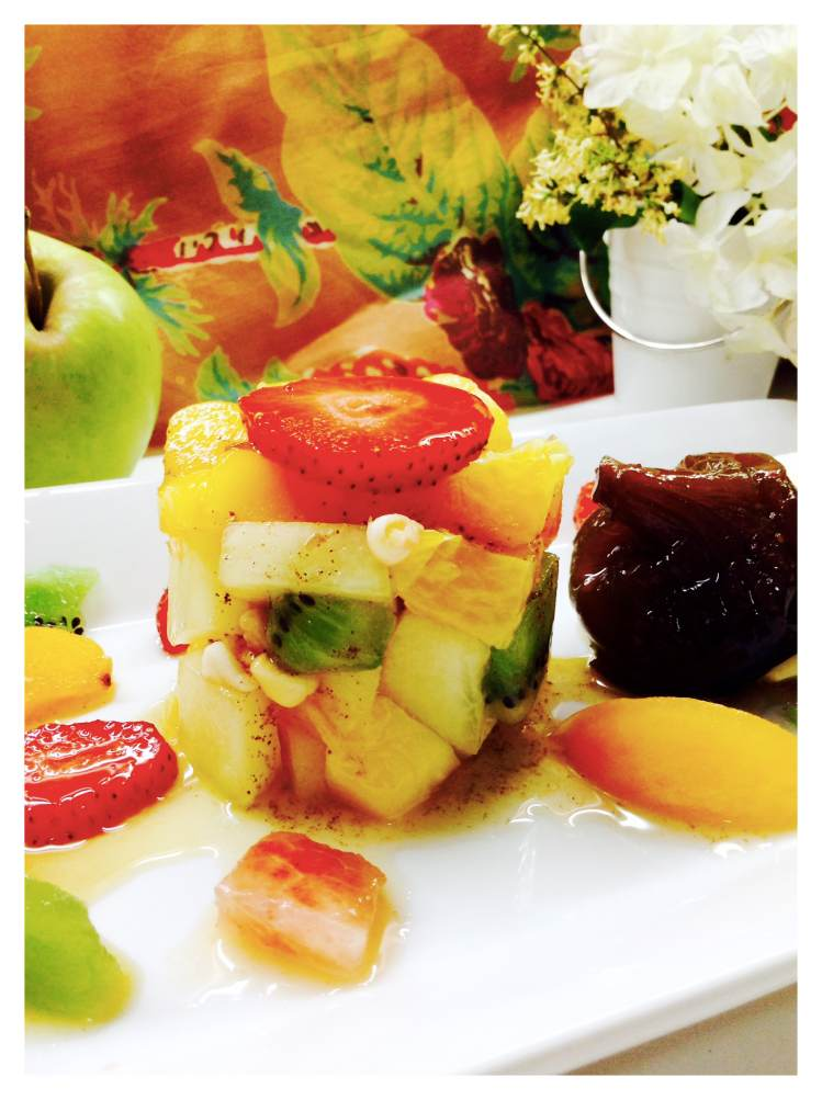 Minestrone de fruta de temporada
