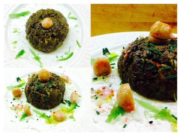 Pastel de espinacas y pollo elaboración_Fotor