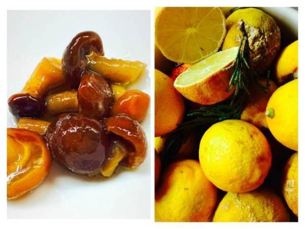 Pollo con setas salteadas ingredientes_Fotor