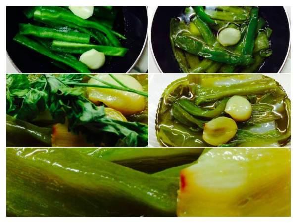 Tosta de bacalo con crema de aceite de pimientos verdes_Fotor