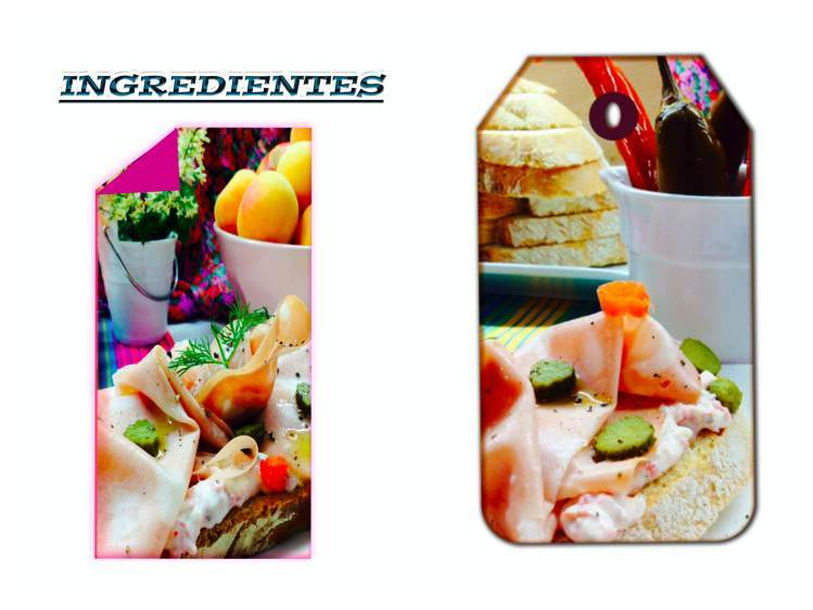 Tosta de crema de salami con mortadela ingredientes_Fotor