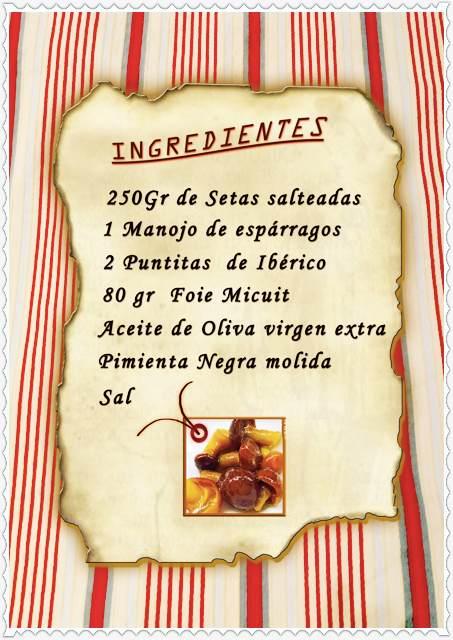 Ensalada templada de setas y espárragps trigueros_Fotor